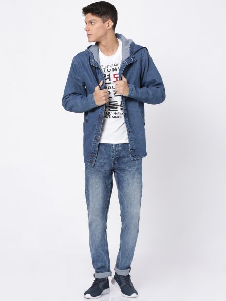 Full Length Denim Coat