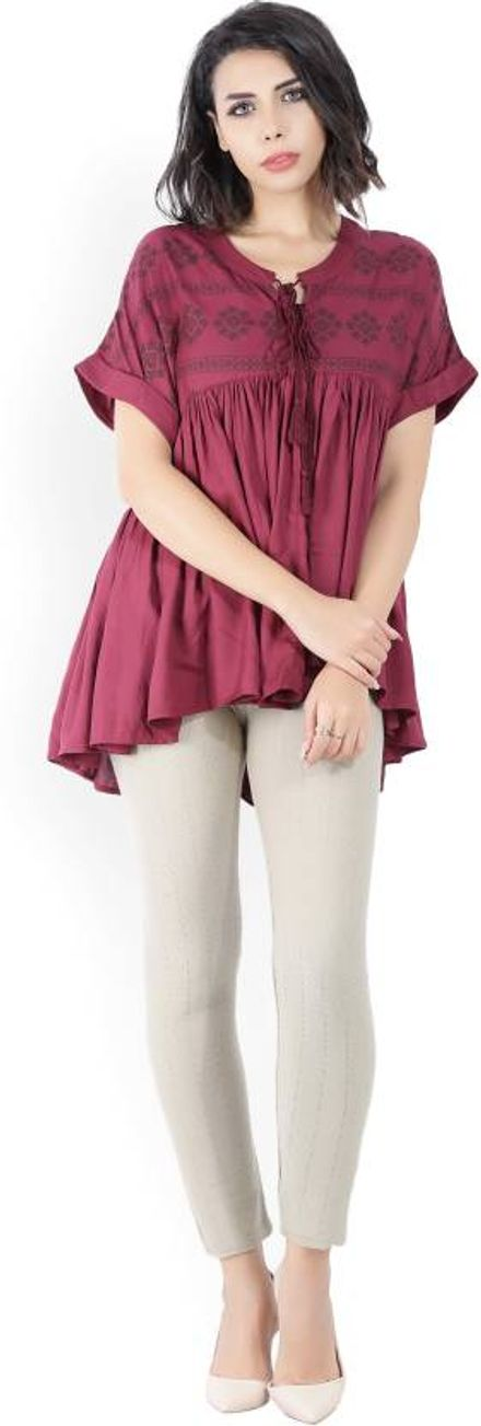 Jeggings with Long Top