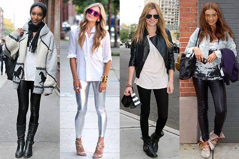 5 Cute Tricks to Style Leggings as Pants