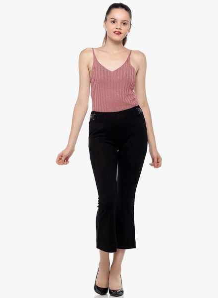 Flare Jeggings with Top