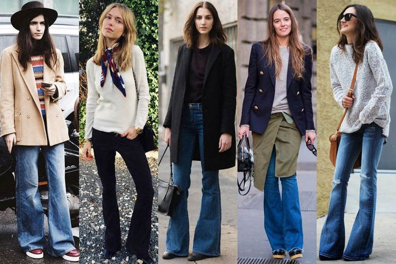 6 Ways to Style Flared Jeans for Women