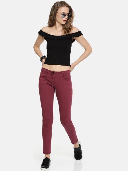 Color Pop Skinny Jeans