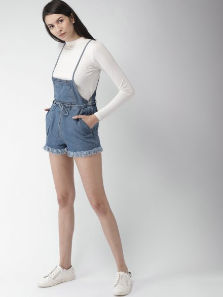 Denim Summer Playsuit