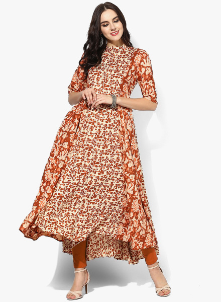 Flared Fancy Kurti