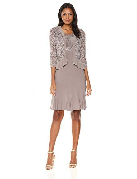 Ruffled Jacket Dress