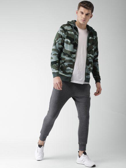 Camouflage Print Nike Sweatshirt