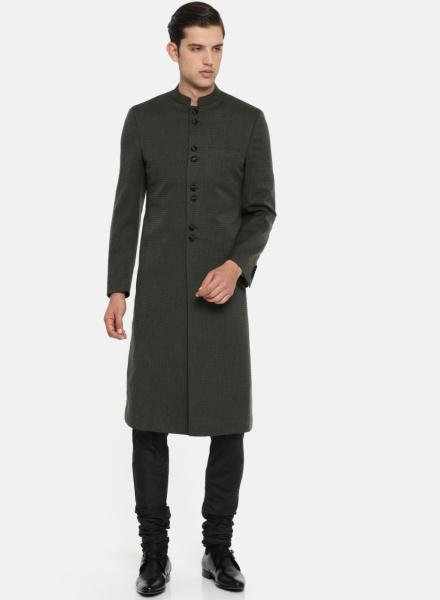 Classic Black Sherwani