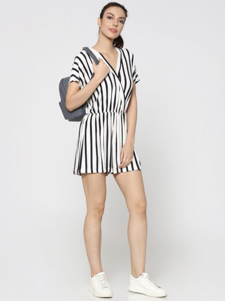 Striped Summer Playsuit