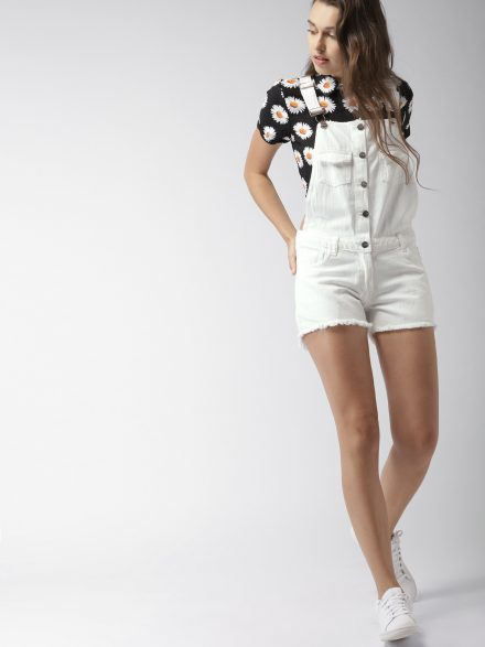 Dungaree Summer Playsuit
