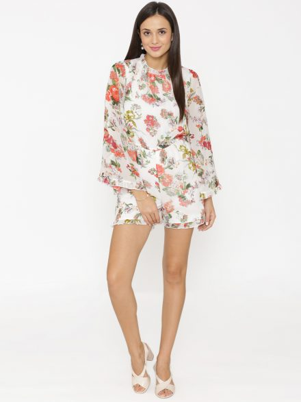 Floral Summer Playsuit