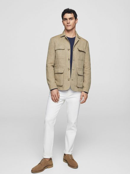 Casual Linen Jacket