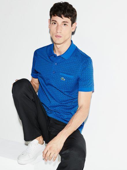 Polo Neck Printed T-shirt