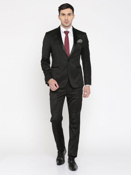 Peter England Black Suit