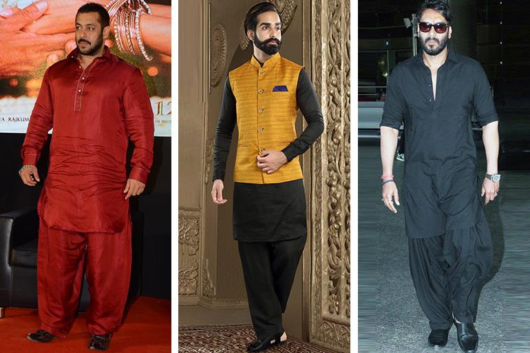 5 Pathani Kurta Designs For The Perfect Nawabi Look