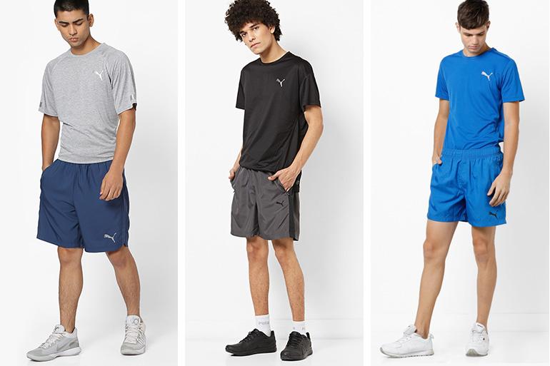 Puma shorts for men