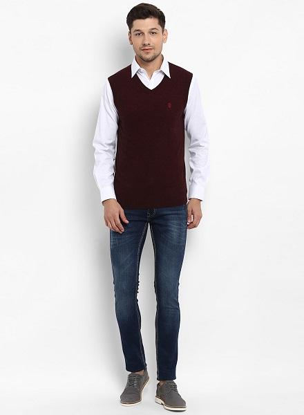 Half-Sleeved Sweater