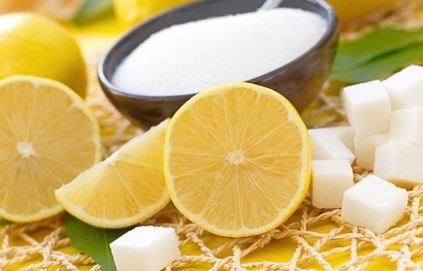 Lemon-Sugar Mixture For Mehendi
