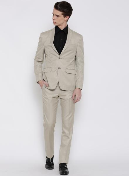 Beige Louis Philippe Suit