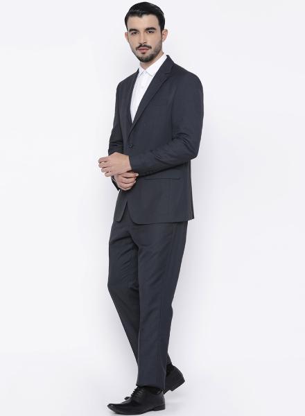 Dark Grey Louis Philippe Suit