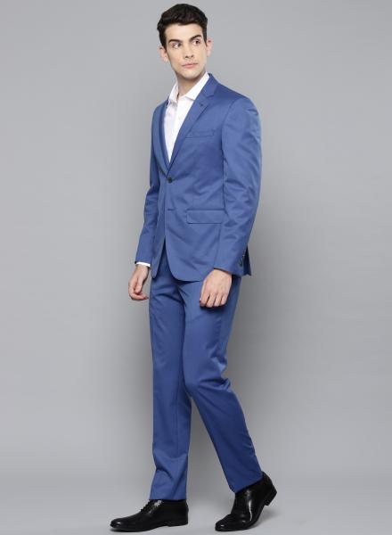 Blue Louis Philippe Suit
