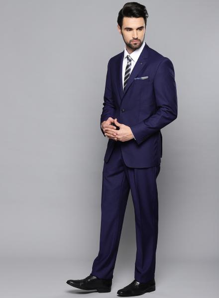 Navy Blue Louis Philippe Suit