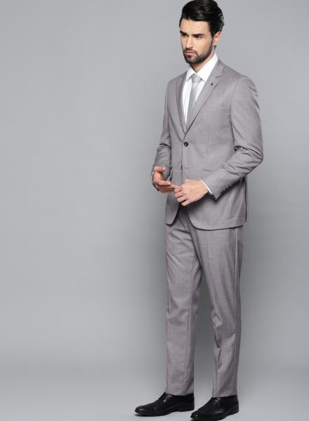 Grey Louis Philippe Suit