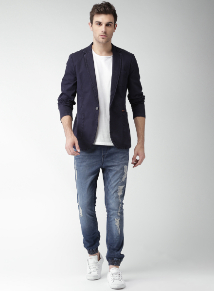 Men To Wear Casual Blazers with Jeans