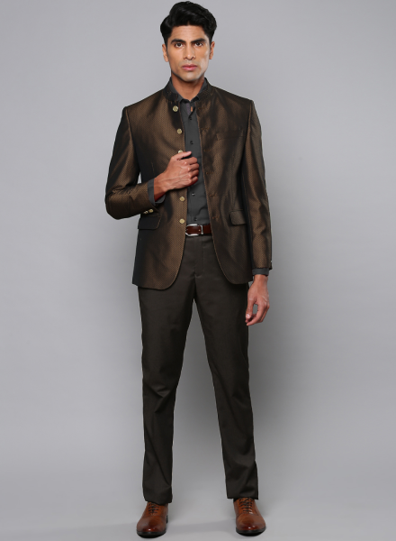 Brown Louis Philippe Suit
