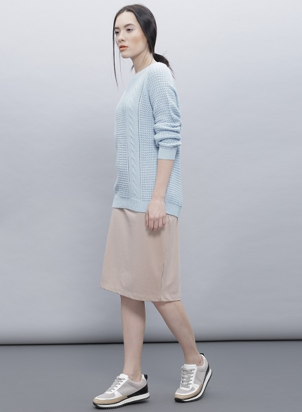 Casual Pullover With A Dress