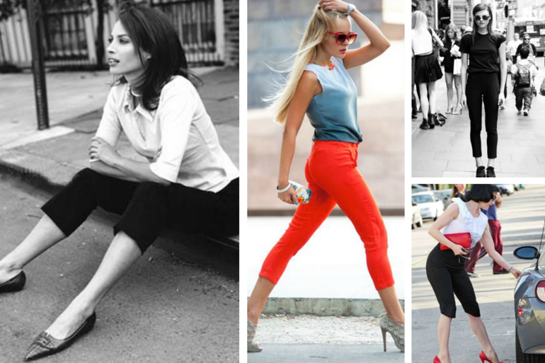 10 Ways to Wear Capris like a Street Style Star