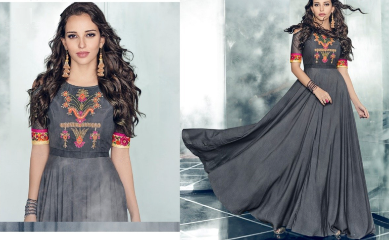 10 Exciting Ways To Style Georgette Kurtis