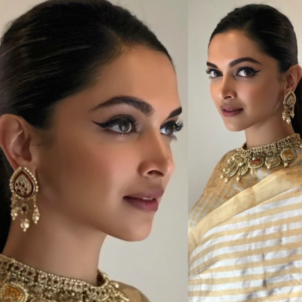 Winged Liner by Deepika Padukone