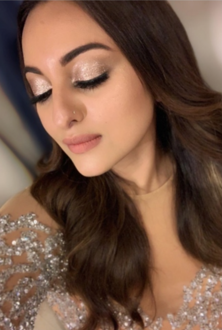 Shimmery Eyes by Sonakshi Sinha