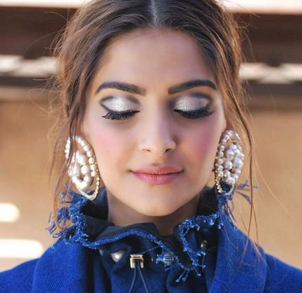 Metallic Look by Sonam Kapoor