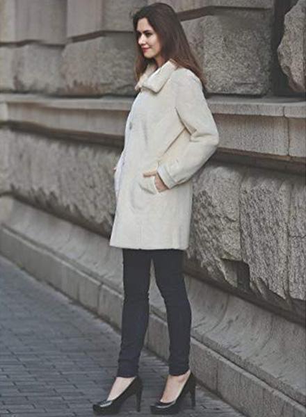 faux fur winter jacket