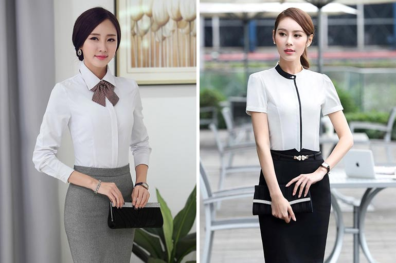 10 Work Wear Tops For A Professional Look
