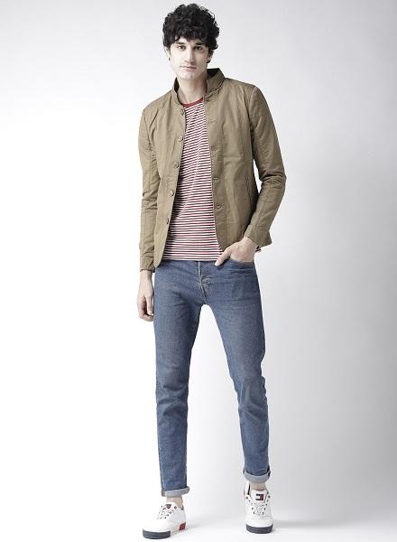 Cotton Tailored Jacket