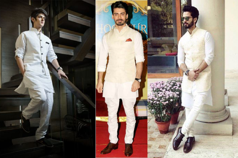 8 Appealing Kurta Pajama With Jackets To Pull Off An Indian Wedding In Style