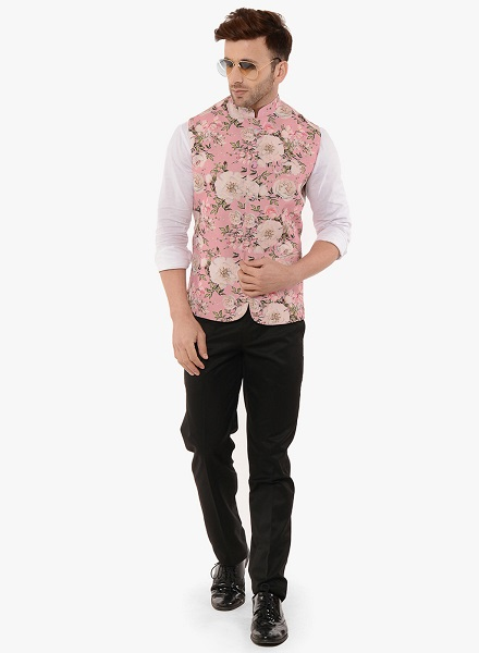 Floral Waistcoat