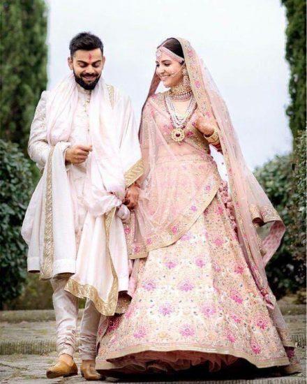 Anushka Sharma: The Stunner Bride