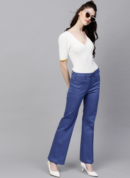 Bootcut Style Trousers