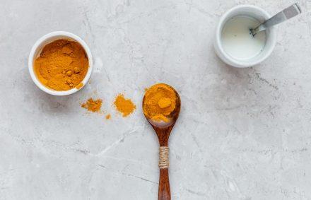 Apply Turmeric And Milk Paste