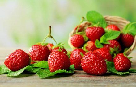 Apply Strawberry Mask