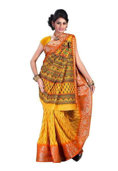How to wear saree - Gujarati Style Step by Step