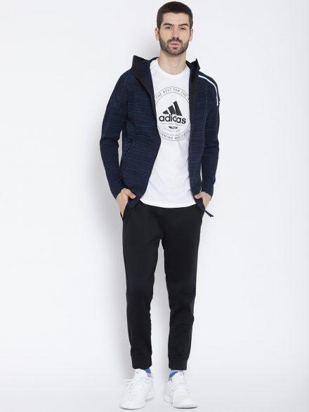 Zip Front Adidas Sweatshirt