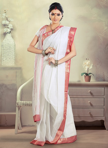 How to wear saree - Bengali Style Step by Step