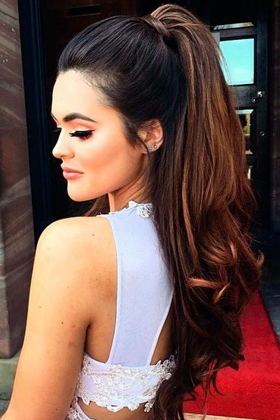 High PonyHairstyle For Women