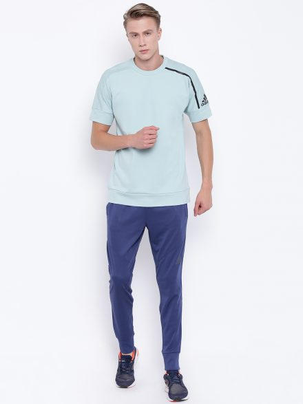 Short Sleeves Adidas Sweatshirt