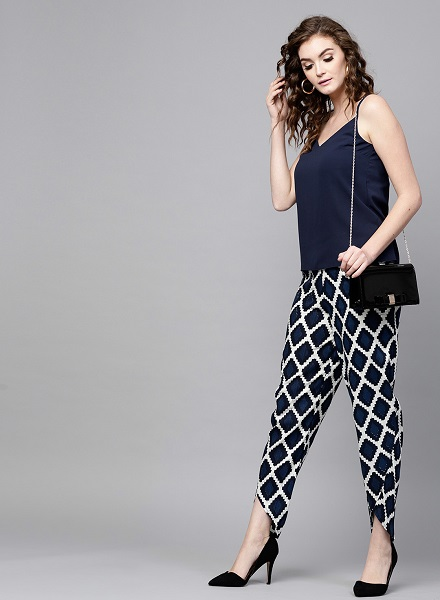 Dhoti Style Trousers