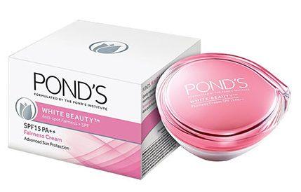 Best Body Lightening Cream Brand in India - Pond's White Beauty Anti Spot Fairness Cream